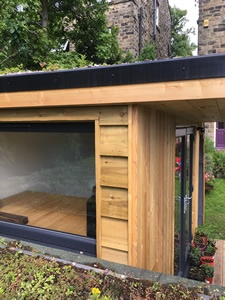 Bespoke Office to fit small garden